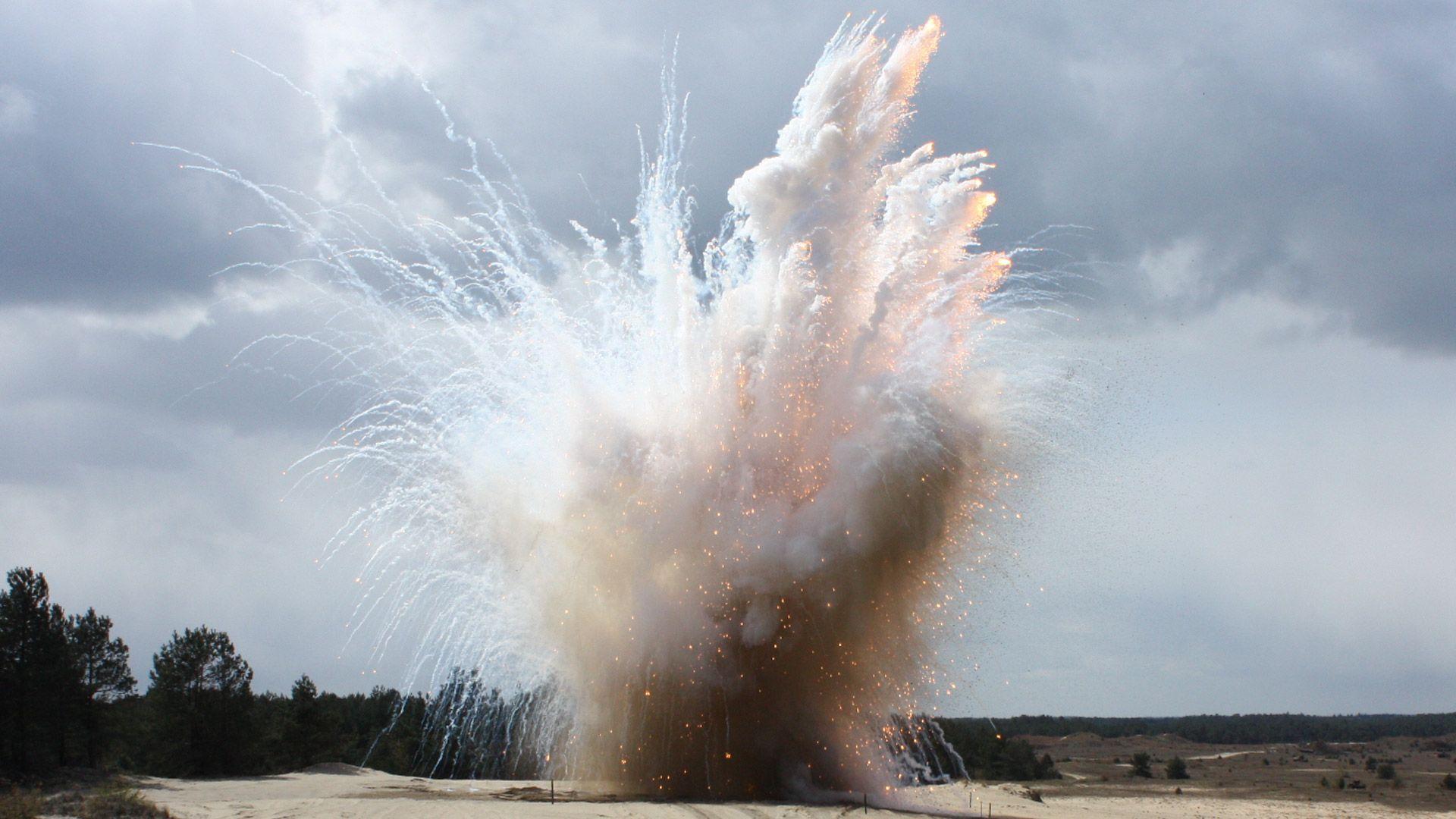 explosieven opsporing nederland