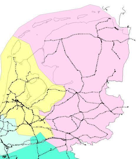 prorail perceel 3 noord-oost nederland