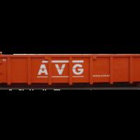 15m3 container, 15 kuub container. AVG verhuurt allerlei afvalcontainers, zoals bouwbakkie, puincontainer, afval container, bouwafval container, container voor grond afvoeren, vuilcontainer, grofvuil container, bouwcontainer, containerbak, afzetcontainer, grond container, container voor puin afvoeren en andere containers met verschillende kuub inhoud.