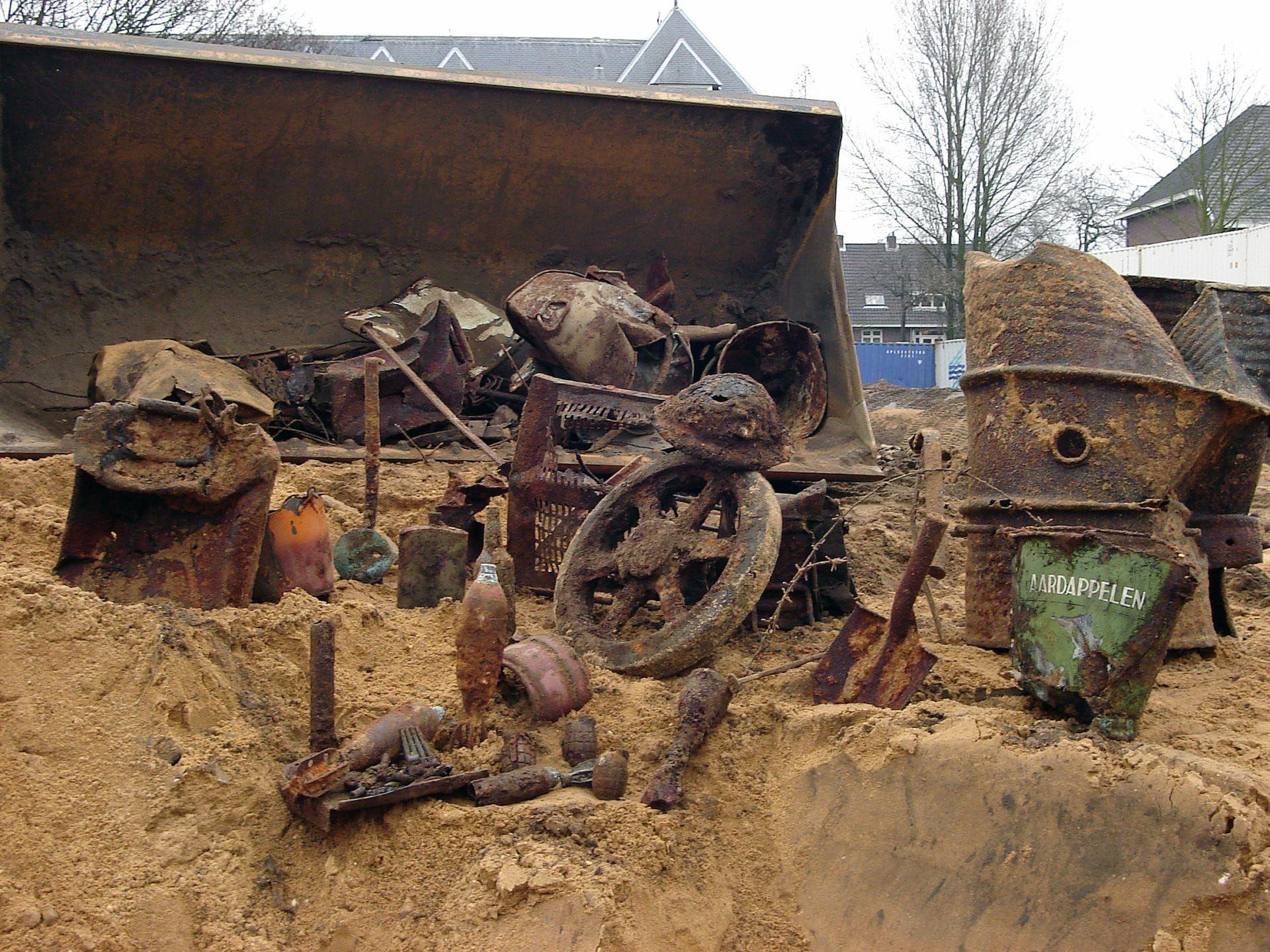 archeologie conventionele explosieven samenwerking avg archol