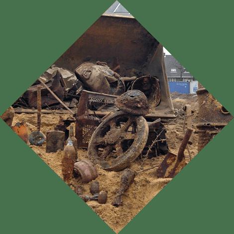 archeologie samenwerking avg explosieven