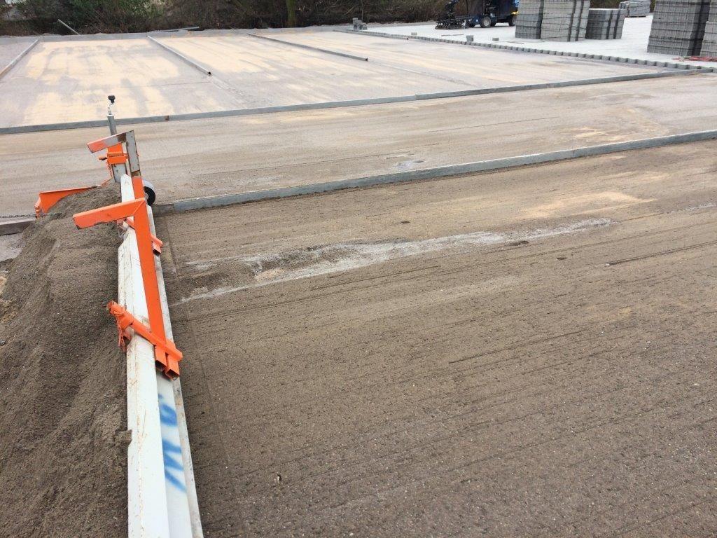 straatwerk grond gelijkmaken