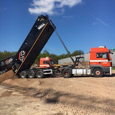 Neubau logistische Betriebshalle VTS