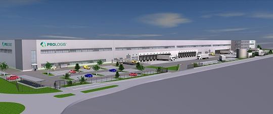 Op Prologis Park Kerpen in Duitsland herrijst een logistiekcentrum van ca. 44.000 m2. AVG Bau Goch verzorgt al hetgrondwerk en alle verhardingen.