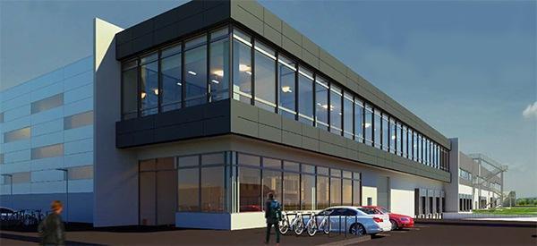 Infra Logistikzentre Unna AVG Bau Goch logistieke centra logistikzentren.
