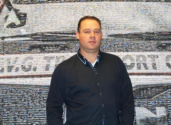 Patrick van Dinther, Hoofd Bedrijfsbureau AVG Infra Nederland. Patrick van Dinther, Leiter des Betriebsbüros AVG Infra Niederlande