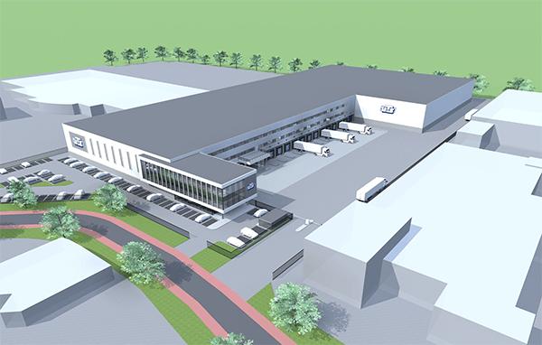 VTS Transport & Logistics Boxmeer. Europa's meest geavanceerde healthcare warehouse. Hoofdaannemer Bouwbedrijf Van de Ven uit Veghel. AVG Infra was verantwoordelijk voor alle infra werkzaamheden.