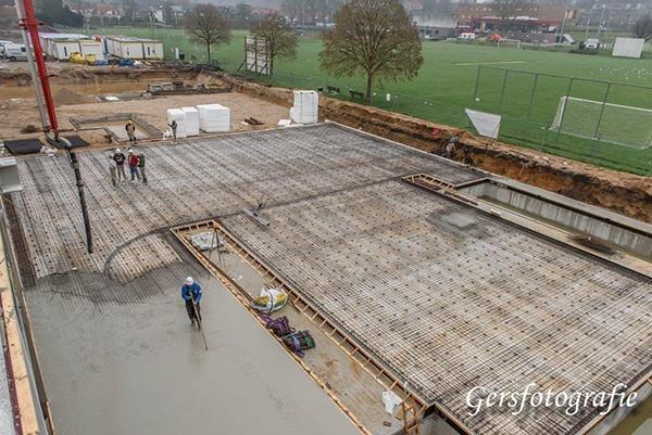 AVG Heijmix levert, in opdracht van Mertensbouwbedrijf uit Weert en de Jong betonvloeren uitRijssen, beton op Sportark De Dennen, op de hoekRosa de Limastraat en Neerbosschweg, te Nijmegen.Het betreft een breedte- en topsportaccommodatievoor onder andere turnen en judo, genaamd 'TalentCentraal Nijmegen' (TCN).