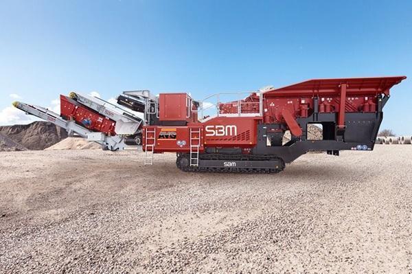 SBM Remax 500 puinbreker, Brechanlage, AVG Bouwstoffen Heijen