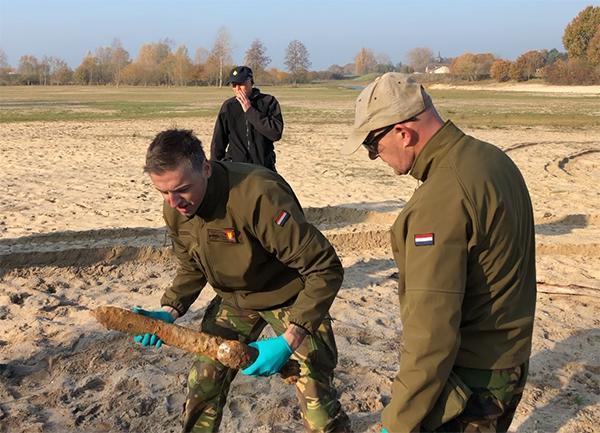 AVG Explosieven Opsporing Nederland heeft tijdens explosieven opsporingswerkzaamheden bij het Nationaal Bevrijdingsmuseum 1944-1945 in Groesbeek een 8 cm brisantgranaat raket gevonden. De Explosieven Opsporingsdienst Defensie (EOD) heeft de raket tot explosie gebracht.