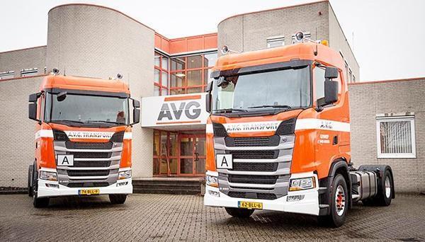 AVG Transport entscheidet sich für Scania. S450. Volumentransport, Silo-transporte durch AVG.