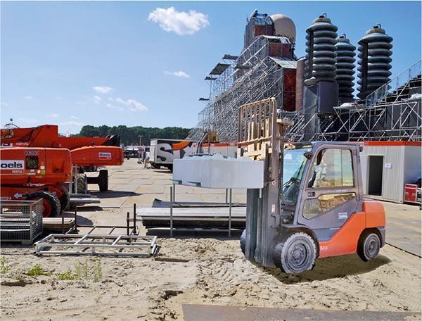 Betonblokken met pallet inkeping 90 Newton. Extra sterke AVG Baublocks, beton blokken, stapelblokken, bouwblokken van 90 Newton. Met pallet-inkeping voor regelmatig gebruik.