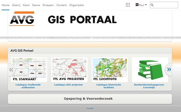 ArcGIS Portaal AVG Explosieven Opsporing Nederland