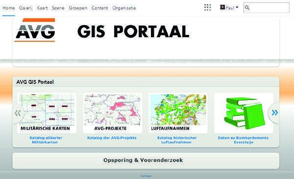 ArcGIS Portal AVG Kampfmittelbeseitigung