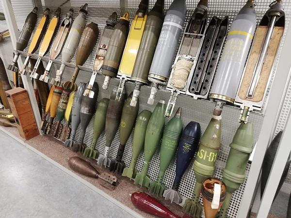 EOD Explosieven OpruimingsDienst 75 jaar, Kampfmittelbeseitigung