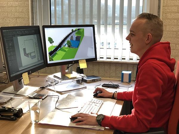 AutoCad AVG Wegenbouw, Straßenbau. Nicky Siemens.