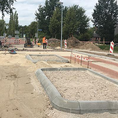 Vrijliggend fietspad en reconstructie rijbaan Hoofdstraat Heijen