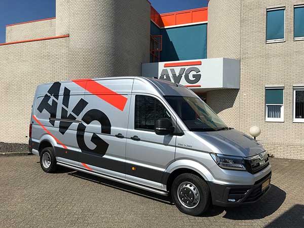 Nieuwe bus voor AVG Techniek