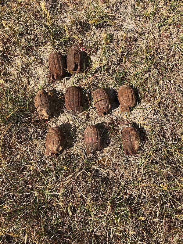 Kampfmittelbeseitigung AVG durch die Niederlandische AVG Explosieven Opsporing Spielplatz Well, gemeine Bergen