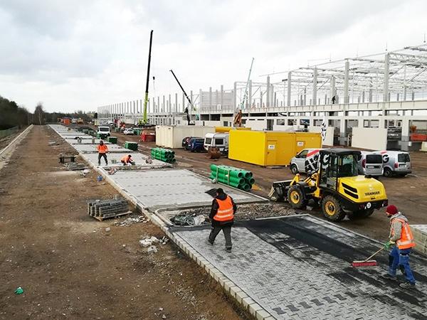 AVG Tiefbau, Infra. Dienstleistungen: Infrastruktur, Erdbau, Straßenbau, Wasserbau. Industrie, Gemeinde. AVG Tiefbau Duisburg