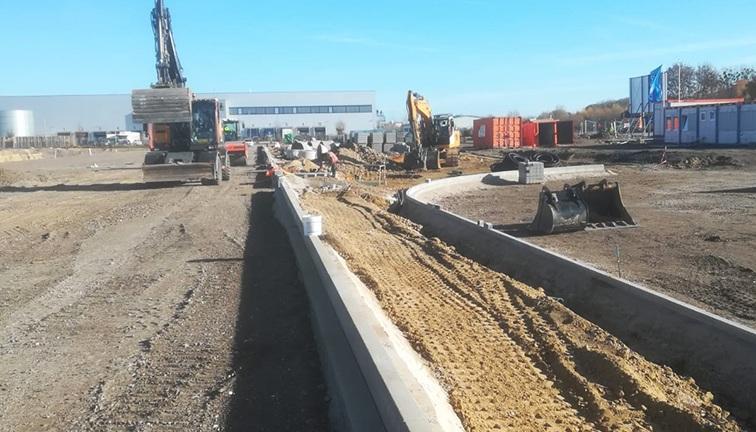 AVG Tiefbau, Infra. Dienstleistungen: Infrastruktur, Erdbau, Straßenbau, Wasserbau. AVG Tiefbau Duisburg