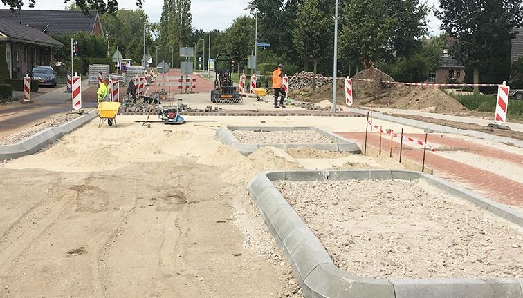 AVG Wegenbouw Heijen. AVG Infra, infrastructuur projecten, wegenbouw, bestrating, etc.
