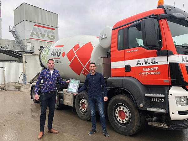 AVG Heymix behaald CSC Zilver certificaat